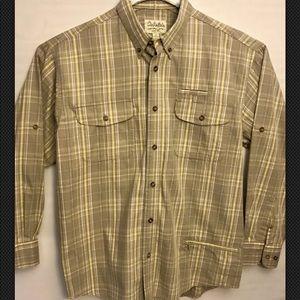 Cabela's Outdoorsman Shirt Mens L NWOT Plaid check